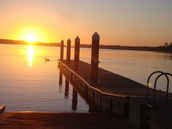 Greenwell Point, Australië: Sunrise @ Angler's