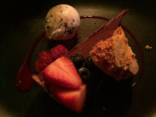 Haytor Vale, UK: Dessert