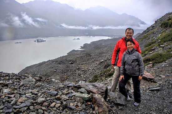 Mt. Cook Village, นิวซีแลนด์: Tasman Valley 4WD Tour with Graeme