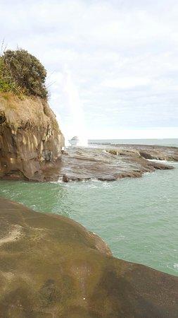 Muriwai Beach, Nueva Zelanda: 20160820_101834_large.jpg