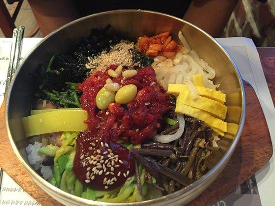 Jeonju, Corea del Sur: Bibimbap