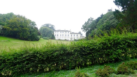St Austell, UK: The house near the centre of the grounds
