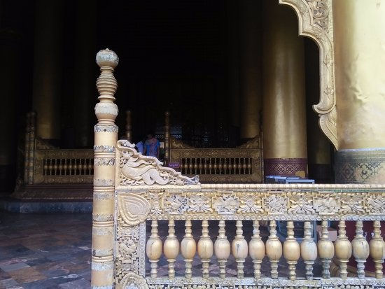 Bago, Burma: fence