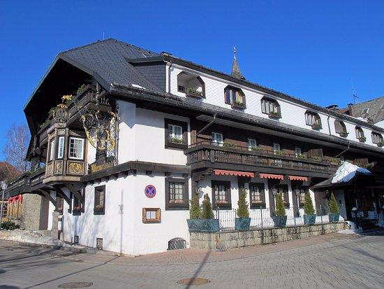 Hausern, Duitsland: Hotel außen