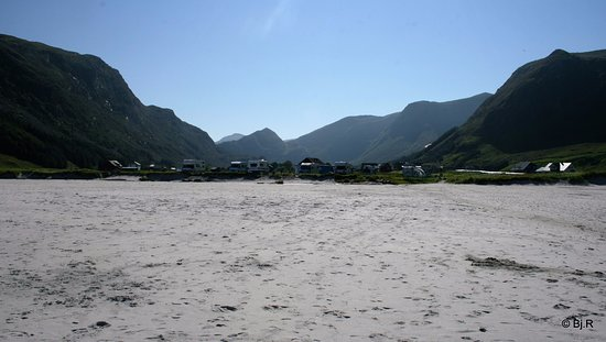 Vagsoy Municipality, Norway: Fin sandstrand