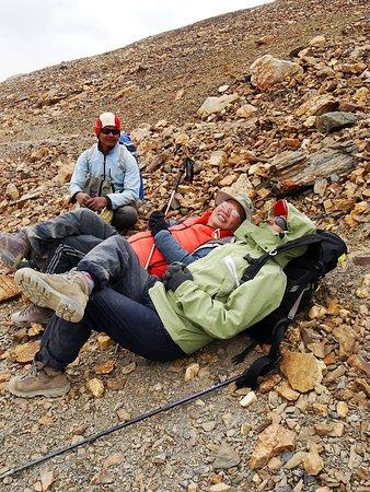 Dolpo, Nepál: tired :) :)