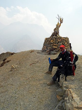 Dolpo, Nepál: Another impression of extreme elevation with 5027m @ Mo La.