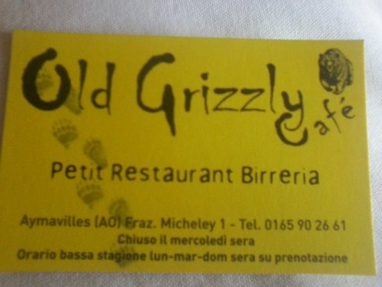 Old Grizzly Cafe Photo