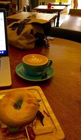 Rothley, UK: Breakfast great coffee and free wifi