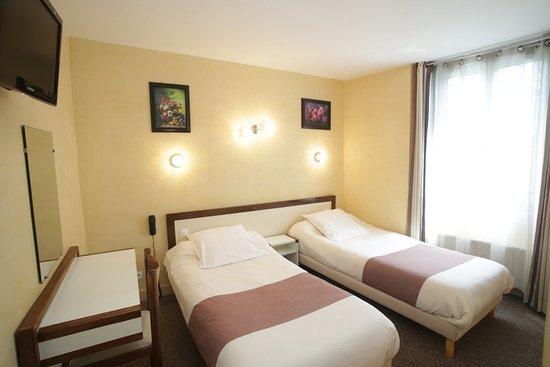 Residence Chatillon : chambre twin