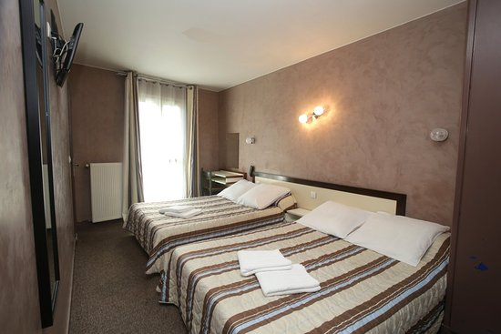 Residence Chatillon : chambre twin familliale