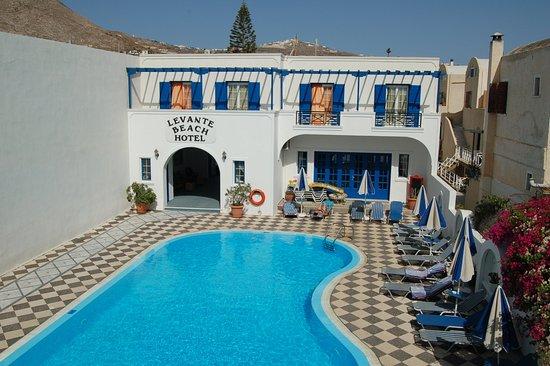 Levante Beach Hotel: eigen prive zwembad
