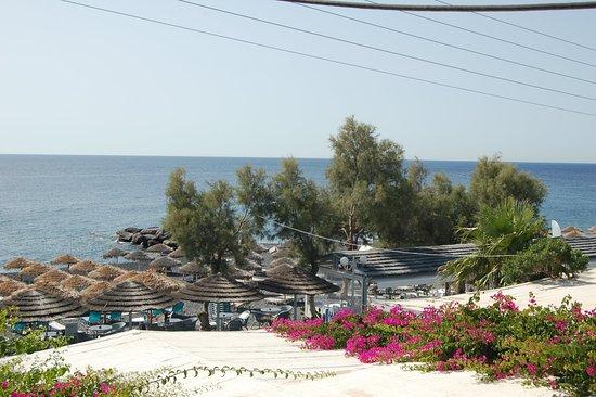 Levante Beach Hotel: dakterras voor ontbijt met uitzicht op het strand