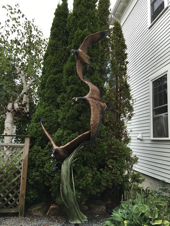 Northeast Harbor, ME: Some of photos of the sculpture garden