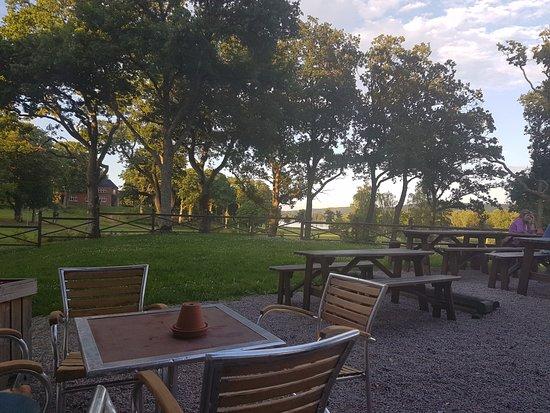 Vanersborg, Suède : Utsikt från terassen