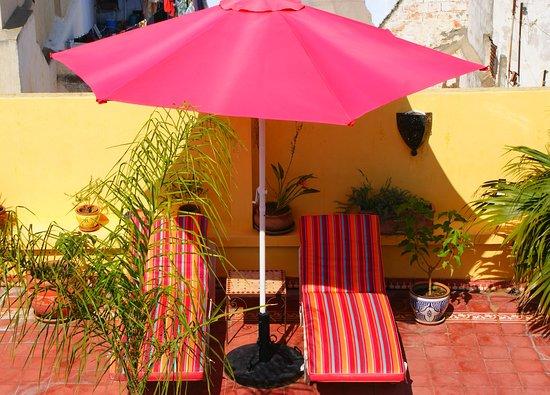 Sale, Maroc : Solarium