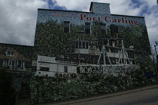 Port Carling, Kanada: It's a beautiful lil tourist town