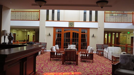Darkhan-Uul Province, Mongolei: Lobby on the 2nd floor