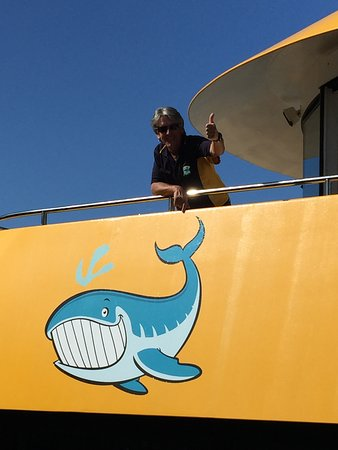 Urangan, Australien: The skipper Andrew! Great job, thank you very much!