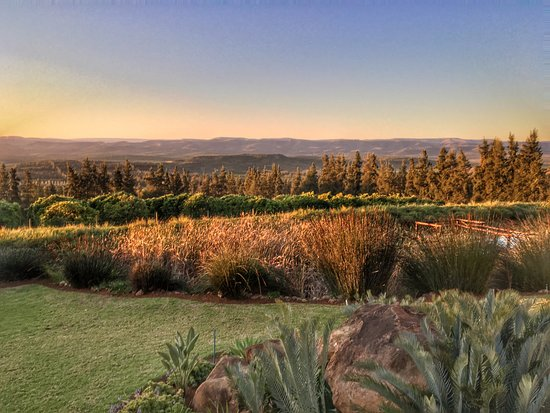 Addo, Südafrika: Great view from chalet nr. 1
