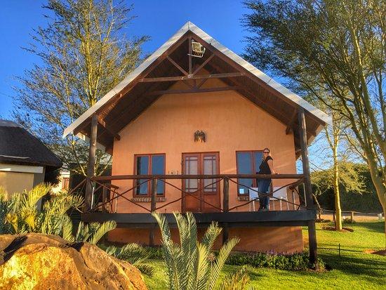 Addo, Sydafrika: Chalet nr. 1