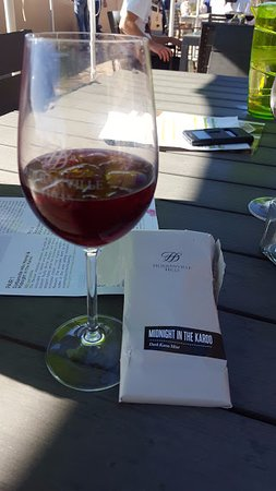 Durbanville, Republika Południowej Afryki: Loved the chocolate and wine together