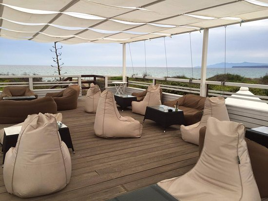 Narbolia, إيطاليا: terrazza del beach bar