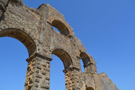 Serik, ตุรกี: Aspendos-Perge Aqueduct