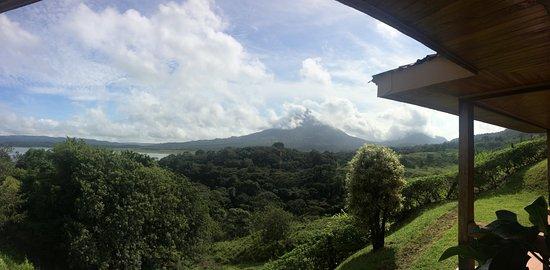 El Castillo, Costa Rica: Panorama dalla Camera