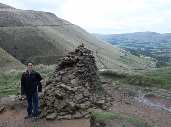 Edale, UK: Top of Jacob's Ladder