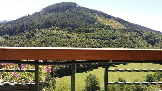 Marvejols, Francia: La vue de la terrasse