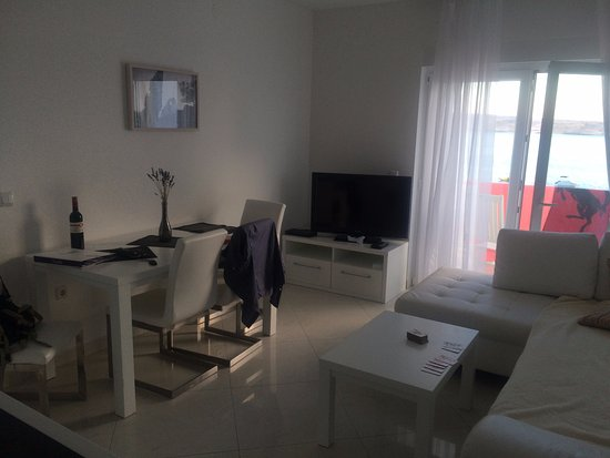 Vidalici, Croacia: Salotto dell'appartamento