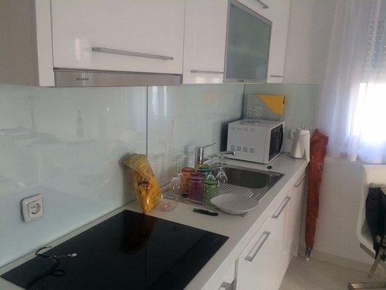 Vidalici, Croacia: Cucina dell'appartamento