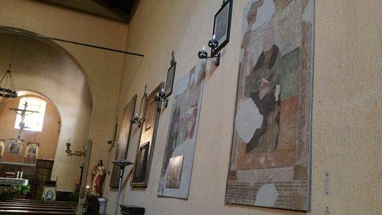 Roccalbegna, Italia: Interno