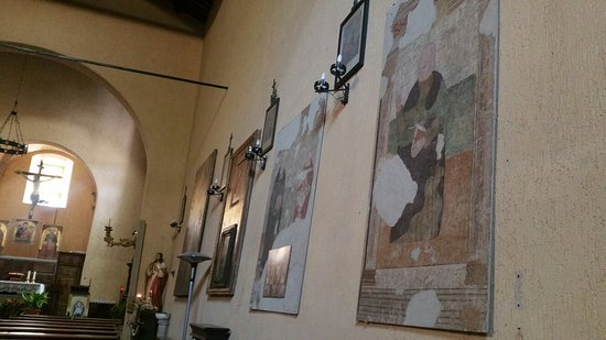 Roccalbegna, İtalya: Interno