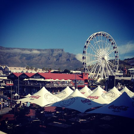 Kommetjie, South Africa: Table Mountain from the V&A Waterfront
