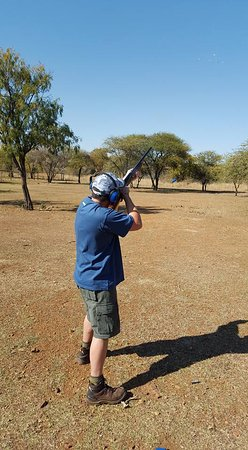 Ngiri Safaris and Scuba: Clay pigeon shooting