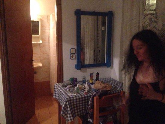 Stergia Apartments: Отель очень милый,а владелица, Стелла,очень заботливая и обонятельная женщина. Были одну ночь,по