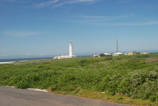 Cape St Francis, Sydafrika: Lighthouse from the main road