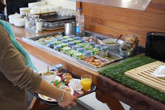 Saix, Francia: buffet pdj