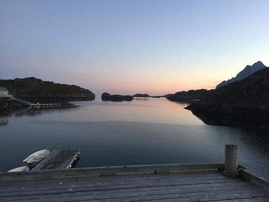 Vagan Municipality, Norwegen: Bilde tatt fra sauna.