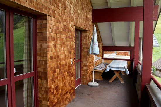 n Apartments Hotel: terrasse