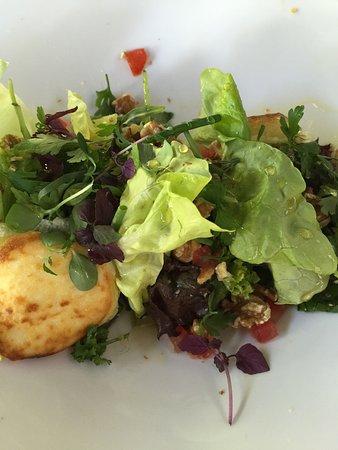 Vught, Nederland: Salade met geitenkaas