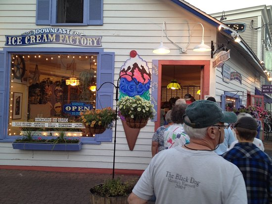 Downeast Ice Cream Factory -- cute place, great product