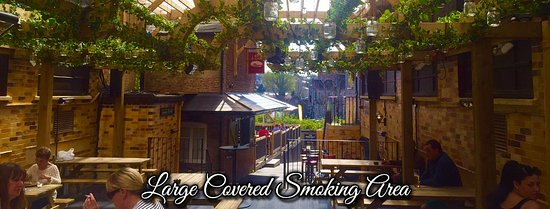 Covered Smoking Area : Restaurants the brenchley in maidstone with cuisine