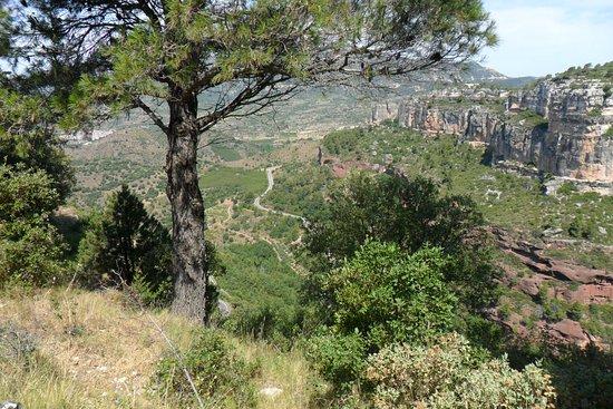 Cornudella de Montsant, Espanha: vue depuis la ville