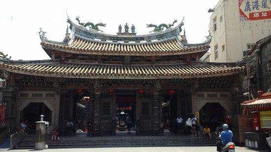 Changhua, Taiwan: 天后宮前一景