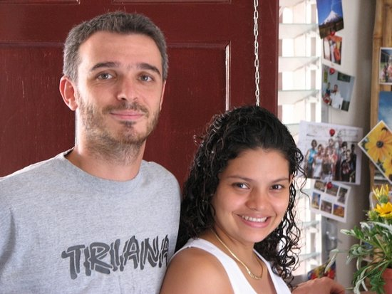 Hostel La Siesta: Managers