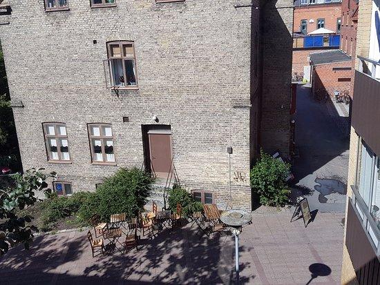 Lund, Svezia: Restaurangen lite från ovan!