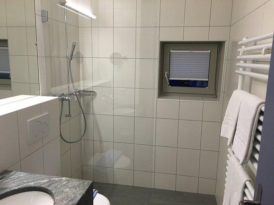 Celerina, Suiza: Dusche WC